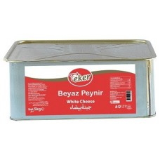 WHOLE FAT WHITE CHEESE IN TIN 5KG EKER